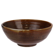 Rustic Brown Salad Bowl