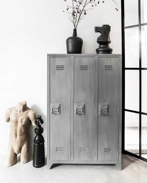 HK Living | Locker Wood Grey | House of Orange Melbourne