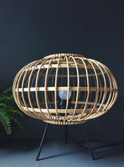 Bamboo Table Lamp (dimmer)