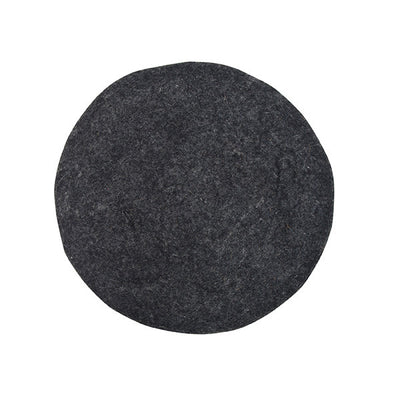HK Living | Cushion | Felt Seat Pad Charcoal | HK Living | House of Orange Melbourne