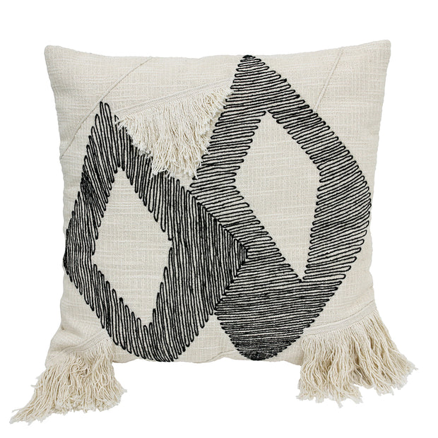 HK Living | Cushion | Triangle Black & White | HK Living | House of Orange Melbourne