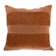 HK Living | Cushion | Velvet Fringe Nude | HK Living | House of Orange Melbourne