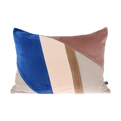 HK Living | Cushion | Velvet Patch Multicolour 'A' | HK Living | House of Orange Melbourne