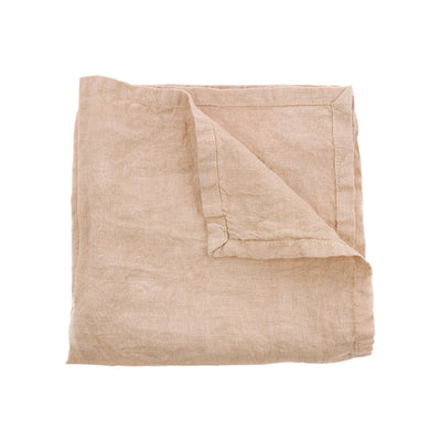 HK Living | Linen Napkin Salmon (45x45) | House of Orange Melbourne