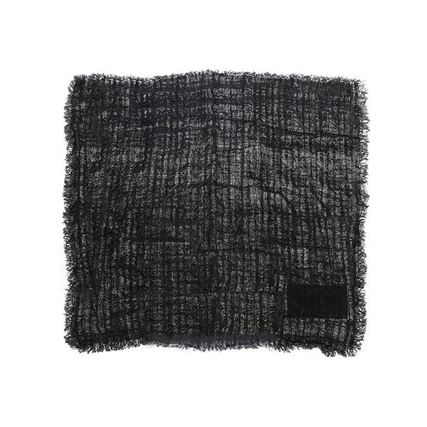 HK Living | Linen Napkin Charcoal Fringes | House of Orange Melbourne