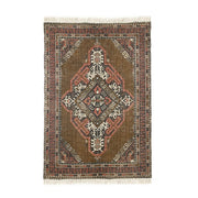 Printed Cotton / Jute Rug Stonewashed (120x180)