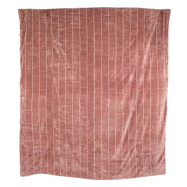 HK Living | Bedspread Shabby Velvet Nude (230x250) | House of Orange Melbourne