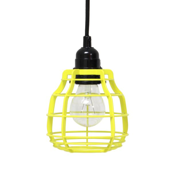 HK Old | Lab Lamp Bright Yellow with pendant | House of Orange Melbourne