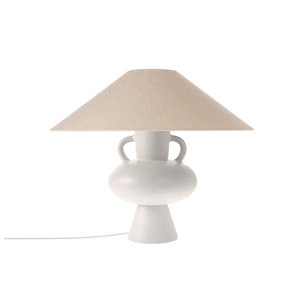 Triangle Lampshade Ivory Jute