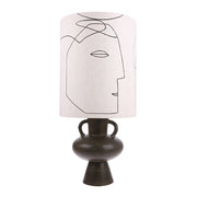 HK Living | Printed Faces Lampshade L (Shade only) | House of Orange Melbourne