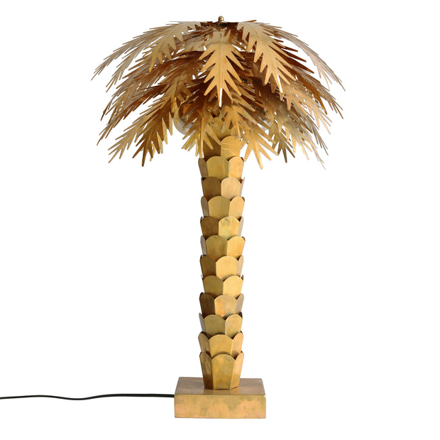 HK Living | Brass Palm Lamp | House of Orange Melbourne
