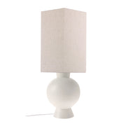 HK Living | Lampbase | Stoneware White Medium (Base only) | HK Living | House of Orange Melbourne