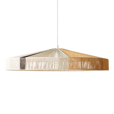 HK Living | Pendant rope lamp black stripe | House of Orange Melbourne