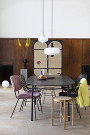 HK Living | Dining Table | Oval Black | HK Living | House of Orange Melbourne