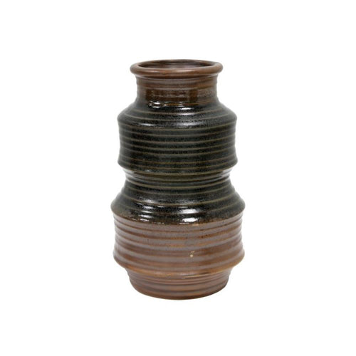 Ceramic Flower Vase Retro Brown