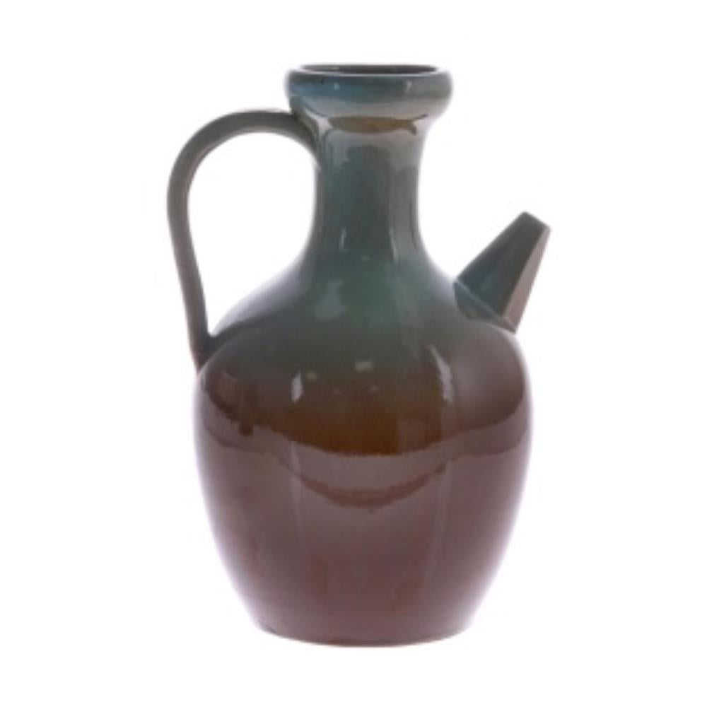 ceramic jug L blue