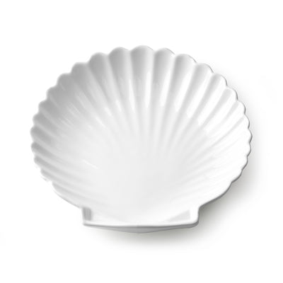 HK Living | Athena Ceramics: Shell Tray White L | House of Orange Melbourne
