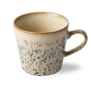 HK Living | Ceramic 70's Cappuccino Mug: Hail | House of Orange Melbourne