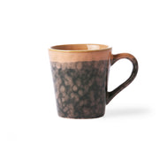 HK Living | Ceramic 70's Espresso Mug: Lava | House of Orange Melbourne