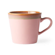 HK Living | Cappuccino Mug | 70's Ceramic Pink | HK Living | House of Orange Melbourne