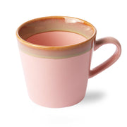 HK Living | Ceramic 70's Cappuccino Mug: Pink | House of Orange Melbourne