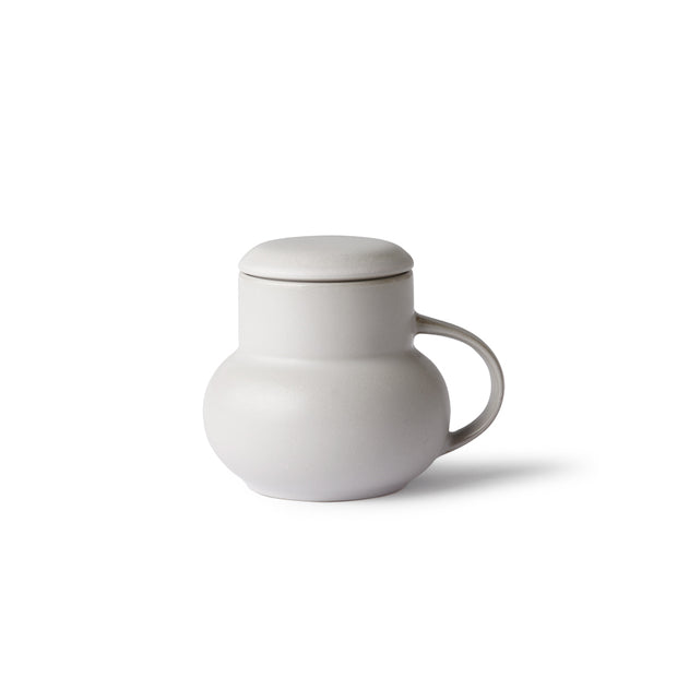HK Living | Ceramic Bubble Tea Mug M Grey | House of Orange Melbourne
