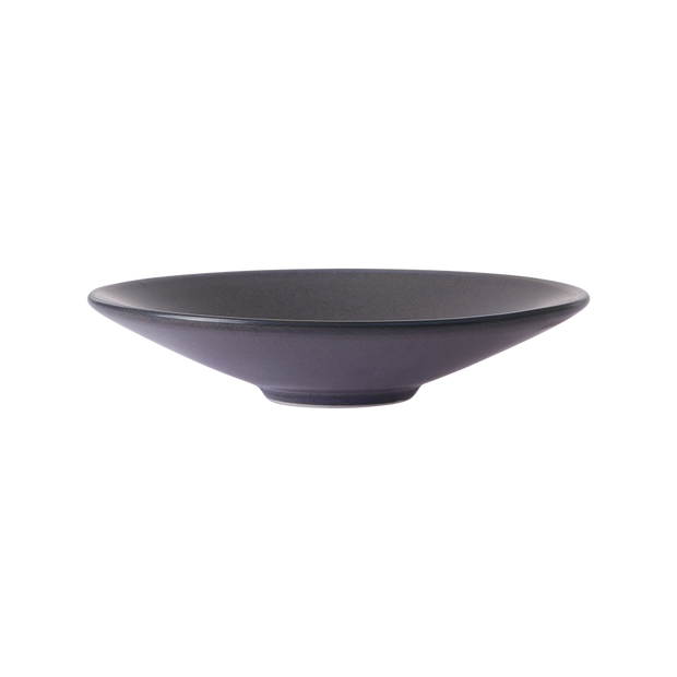 home chef ceramics: flat bowl purple