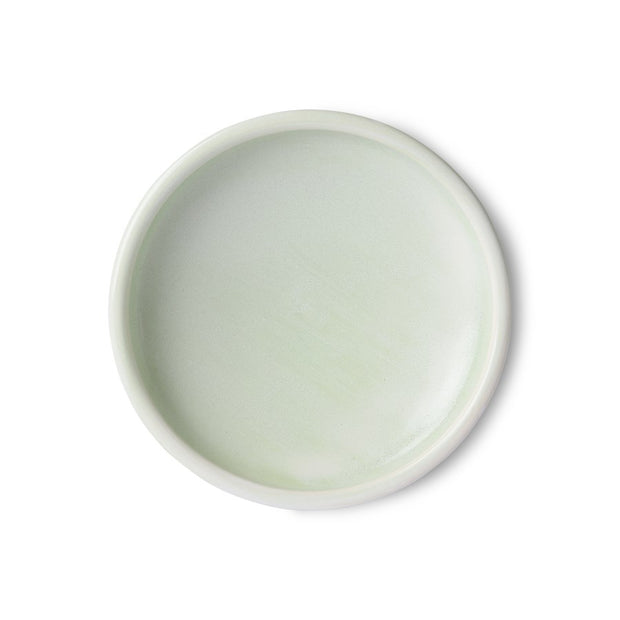 Home Chef Ceramics: Side Plate Mint Green