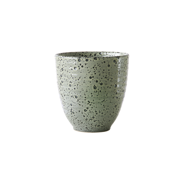 gradient ceramics: mug green (set of 4)