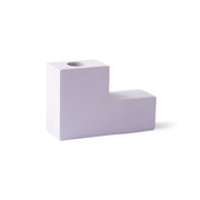 HK Living | Candle Holder | Concrete Stairs Medium Lilac | HK Living | House of Orange Melbourne