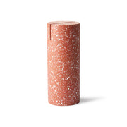 HK Living | Terrazzo Cylinder Photo Stand Red | House of Orange Melbourne