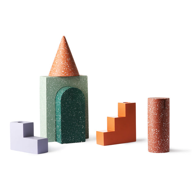 HK Living | Terrazzo Arch Ornament B Mint | House of Orange Melbourne