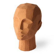 HK Living | Abstract Head Sculpture Terracotta | House of Orange Melbourne