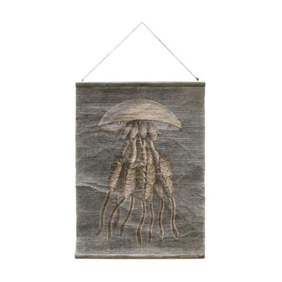 HK Living | Vintage Wall Chart: Jellyfish | House of Orange Melbourne