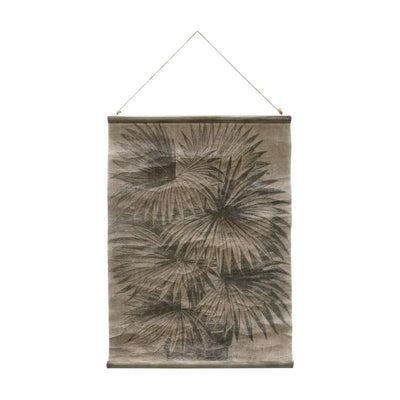 HK Living | Vintage Wall Chart: Palm Leaves | House of Orange Melbourne