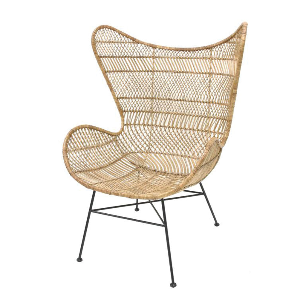 Rattan Egg Chair Natural - Bohemian