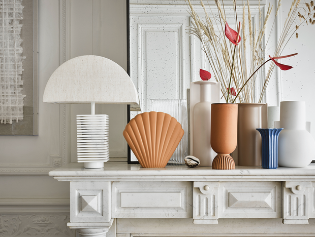 HK Living | Matte White Vase S | House of Orange Melbourne
