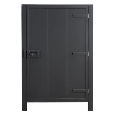HK Living | Cabinet | Single Door Charcoal | HK Living | House of Orange Melbourne