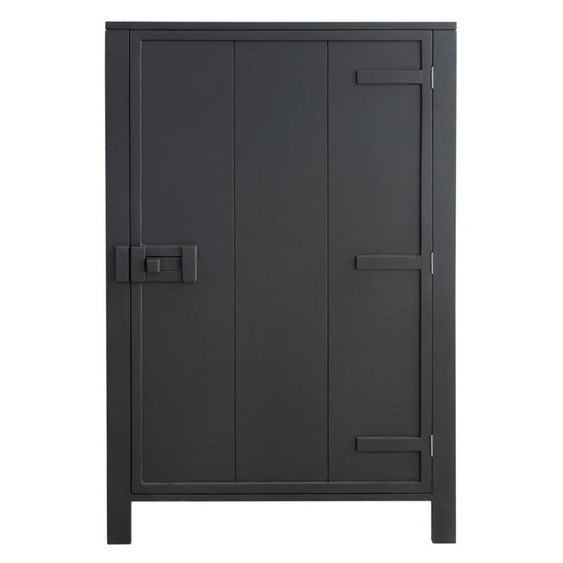 HK Living | Single Door Cabinet Charcoal | House of Orange Melbourne