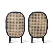 HK Living | Webbing Bedside Black Set of 2 | House of Orange Melbourne