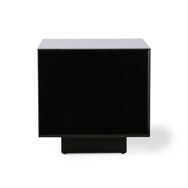 HK Living | Mirror Block Table Black M | House of Orange Melbourne