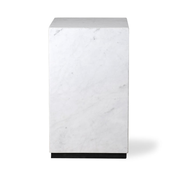 HK Living | White Marble Block Table S | House of Orange Melbourne