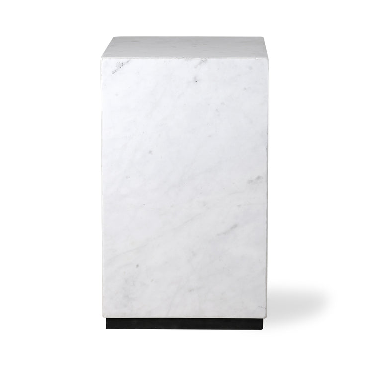 Table | Marble Block White Small | HK Living