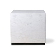 HK Living | White Marble Block Table L | House of Orange Melbourne
