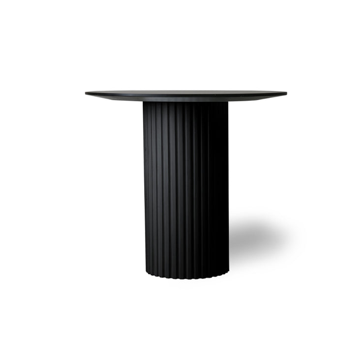 HK Living | Side Table | Pillar Round Black | HK Living | House of Orange Melbourne