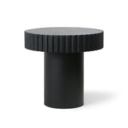 HK Living | Coffee Table | Pillar Round Black | HK Living | House of Orange Melbourne