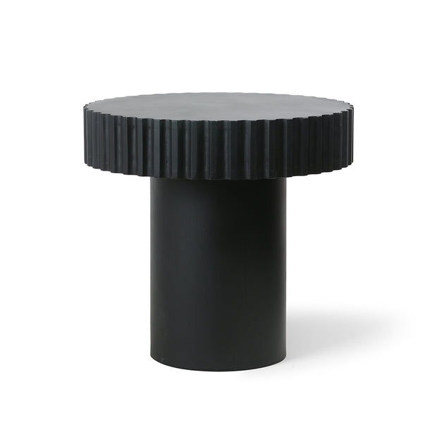 HK Living | Pillar Coffee Table Round Black | House of Orange Melbourne