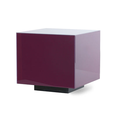 HK Living | Mirror Block Table Purple M | House of Orange Melbourne