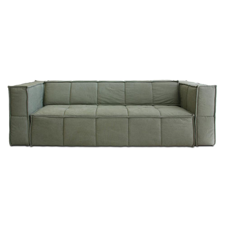 HK Living | Cube Couch 4 Seats Army Green | House of Orange Melbourne