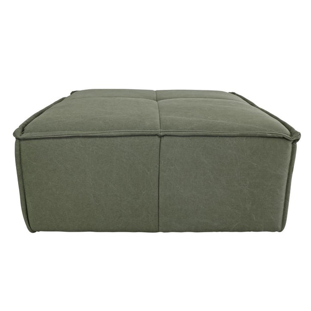 HK Living | Ottoman Army Green | House of Orange Melbourne